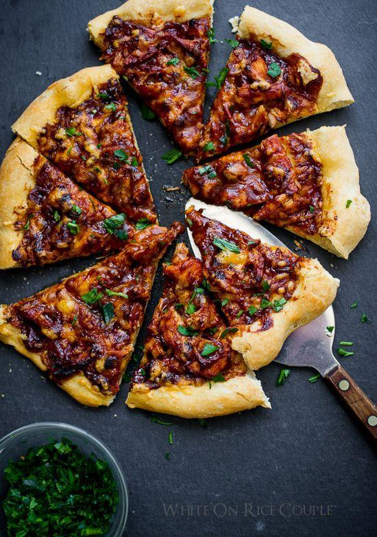 """<p>You'll be surprised how amaze turkey tastes with barbecue sauce.</p><p>Get the recipe from <a href=""""http://whiteonricecouple.com/recipes/bbq-turkey-pizza/"""" rel=""""nofollow noopener"""" target=""""_blank"""" data-ylk=""""slk:White on Rice Couple"""" class=""""link rapid-noclick-resp"""">White on Rice Couple</a>.</p>"""