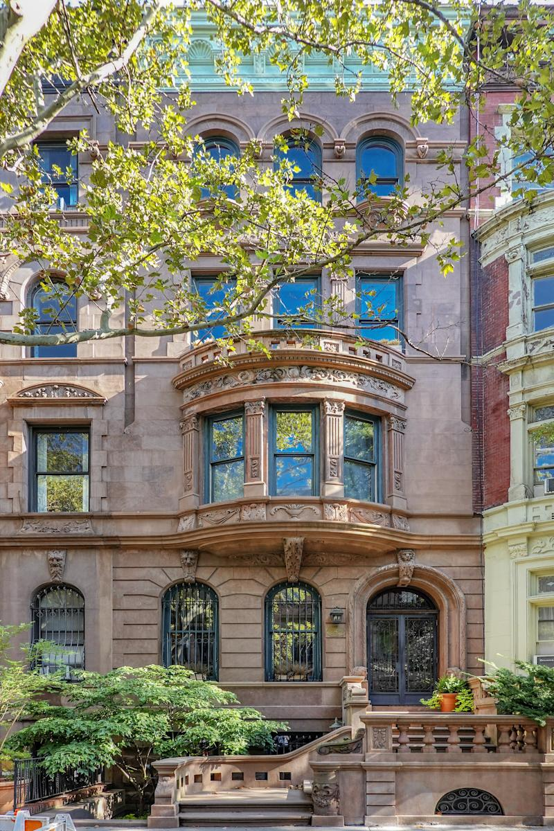 Chastain's new townhouse was originally listed for $11.5 million.