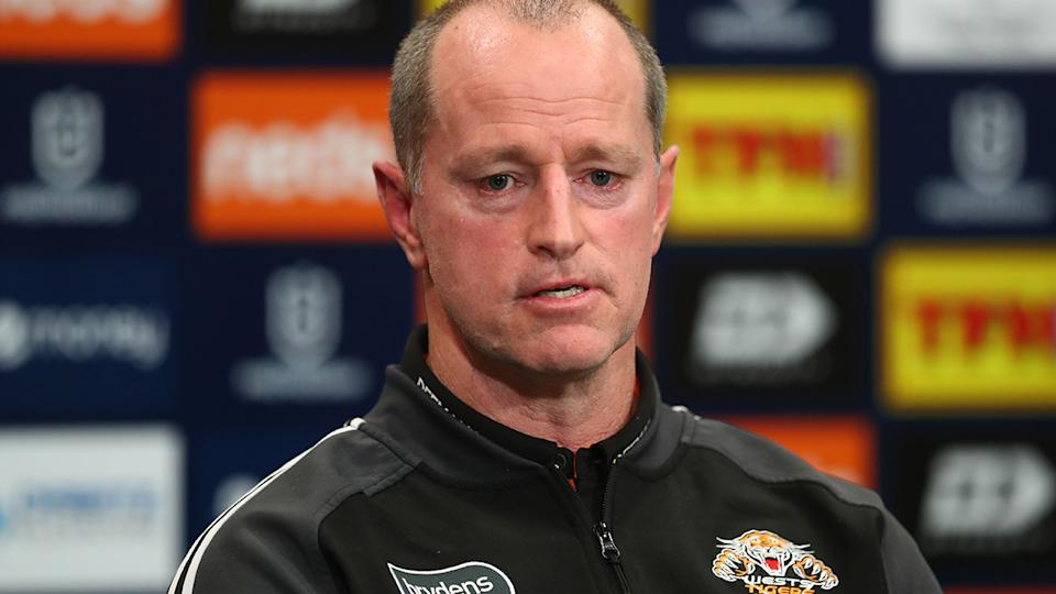 The protracted manner in which Wests Tigers eventually confirmed coach Michael Maguire would stay on in 2022 was lashed by Balmain great Garry Jack. (Photo by Chris Hyde/Getty Images)