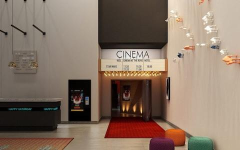 The cinema at Rove Downtown, Dubai