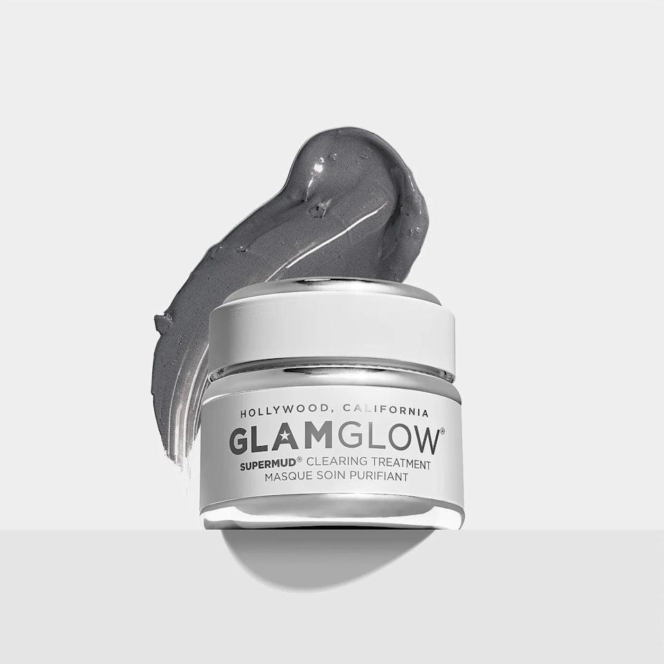 """<p>If you have stubborn acne, this <span>GlamGlow SuperMud Clearing Treatment </span> ($25-$86) is a godsend. The brand touts, """"The potent mud formula supports skin's natural oil balance, while a proprietary blend of six acids work to help minimize pores and create clearer skin."""" Sounds like a win-win to us.</p>"""
