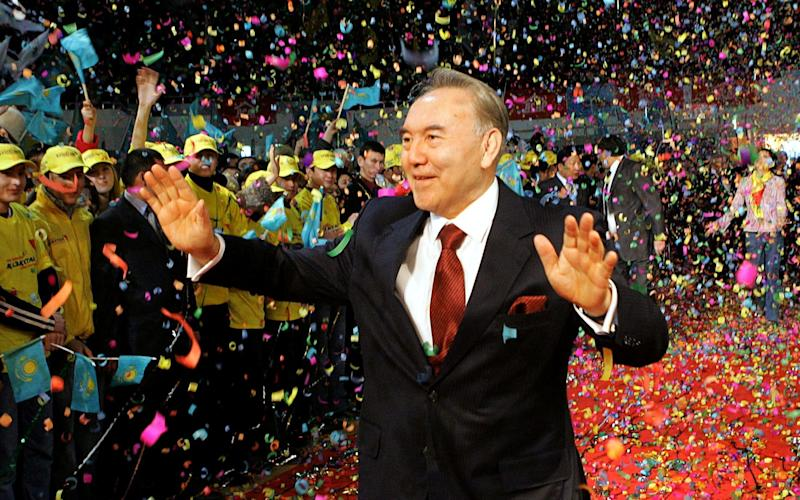 Kazakh president Nazarbayev led the nation for three decades - REUTERS