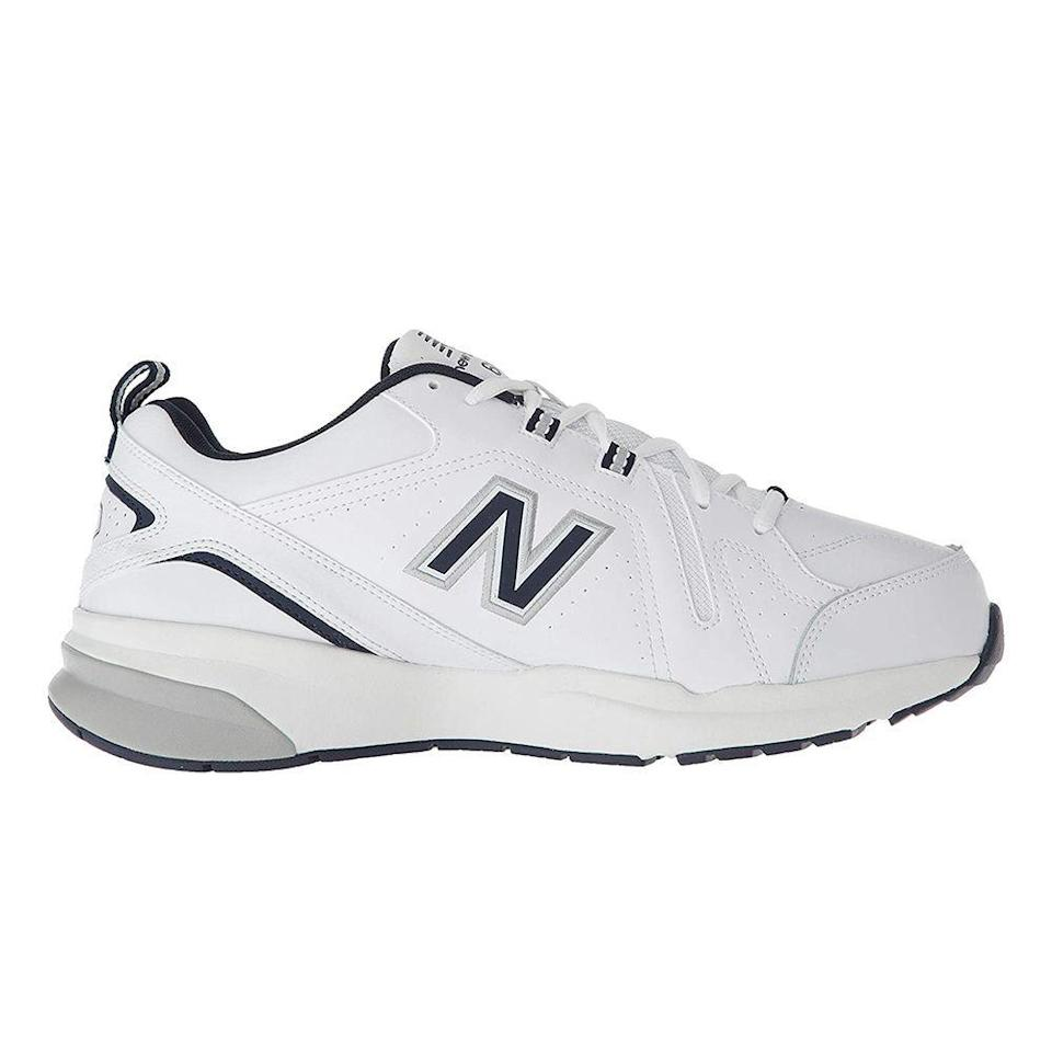 """<p><strong>New Balance</strong></p><p>amazon.com</p><p><strong>$52.97</strong></p><p><a href=""""https://www.amazon.com/dp/B07B3VQ8DY?tag=syn-yahoo-20&ascsubtag=%5Bartid%7C2089.g.36095713%5Bsrc%7Cyahoo-us"""" rel=""""nofollow noopener"""" target=""""_blank"""" data-ylk=""""slk:Shop Now"""" class=""""link rapid-noclick-resp"""">Shop Now</a></p><p><a href=""""https://m.tiktok.com/v/6926677376487230725.html?_d=secCgYIASAHKAESMgowWbHMLJRvswiLYJ%2FOY6GOc1DF5S4BP5DTYbIGfNgjBCU8VI5VYksx4%2FVNkE0Otu7cGgA%3D&language=en&preview_pb=0&sec_user_id=MS4wLjABAAAAMc1vhkTsPhubLx-Kg0QdRuepZTF1lNI5ZfWuL5Nblgtb1cACTjYFkS6FDhzPyEek&share_item_id=6926677376487230725&share_link_id=1DB97A07-B470-441C-B6E8-D4B6C29BAD91&source=h5_m×tamp=1618241048&tt_from=copy&u_code=d7d21cfljlkla5&user_id=6718347251267568646&utm_campaign=client_share&utm_medium=ios&utm_source=copy"""" rel=""""nofollow noopener"""" target=""""_blank"""" data-ylk=""""slk:It is time."""" class=""""link rapid-noclick-resp"""">It is time.</a> When a person becomes a dad, these are the sneakers that will make him a legend. They have a magical paternal energy that seals it. </p><p>Eventually, the new dad will upgrade to wearing these with lighter wash jeans or cargo shorts, but this is the first step to fatherly greatness. They're comfortable. They're cheap. They're practical. They change their oil every 3,000 miles and never let the gas go below half-empty.<br></p>"""