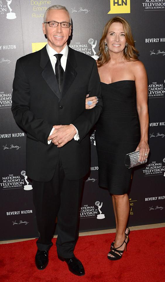 Dr. Drew Pinsky and Susan Sailer arrive at The 39th Annual Daytime Emmy Awards held at The Beverly Hilton Hotel on June 23, 2012 in Beverly Hills, California.