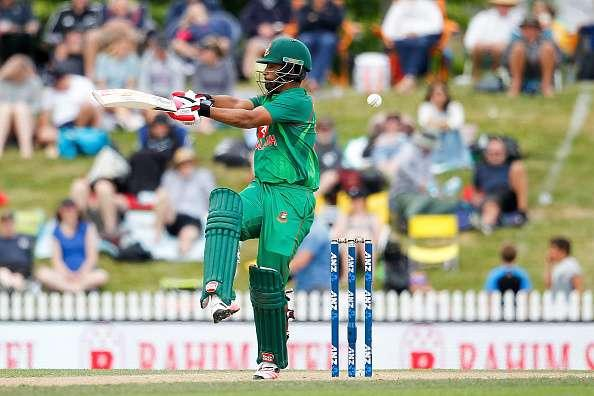 NELSON, NEW ZEALAND - DECEMBER 31: Tamim Iqbal of Bangladesh bats during the third One Day International match between New Zealand and Bangladesh at Saxton Field on December 31, 2016 in Nelson, New Zealand. (Photo by Martin Hunter/Getty Images)