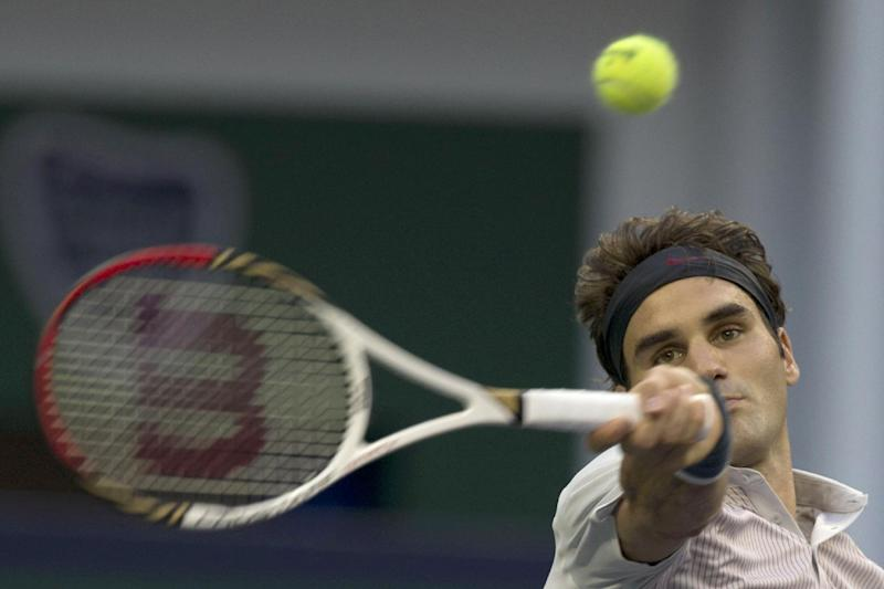 Federer opens Swiss Indoors event with victory