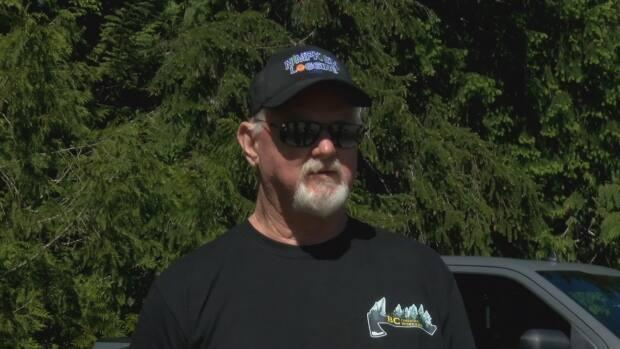 Ron Tucker is a forestry worker from Royston B.C.