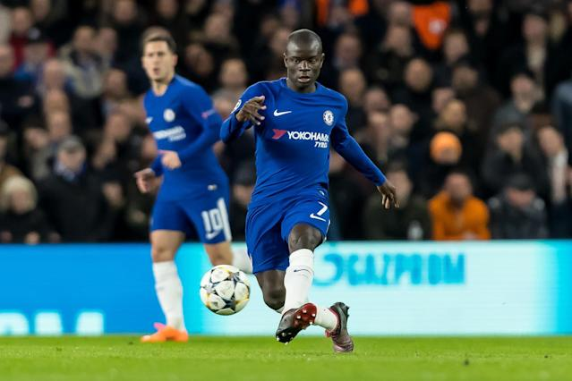 "<a class=""link rapid-noclick-resp"" href=""/soccer/players/ngolo-kanté/"" data-ylk=""slk:N'Golo Kante"">N'Golo Kante</a> was did not play for <a class=""link rapid-noclick-resp"" href=""/soccer/teams/chelsea/"" data-ylk=""slk:Chelsea"">Chelsea</a> in a 1-0 loss at <a class=""link rapid-noclick-resp"" href=""/soccer/teams/manchester-city/"" data-ylk=""slk:Manchester City"">Manchester City</a>. (Getty)"
