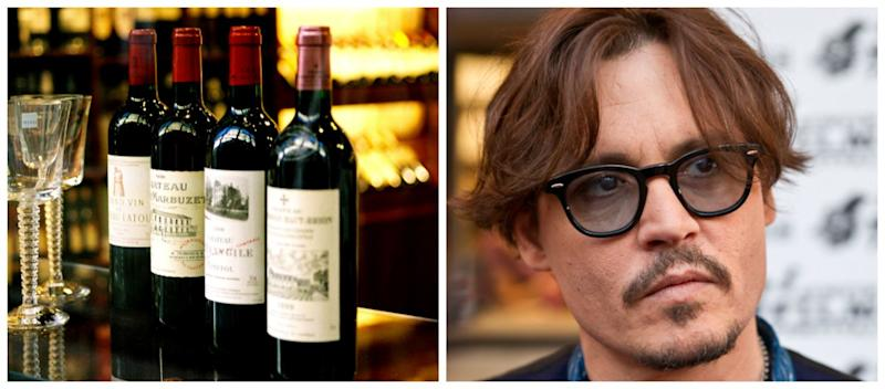 'Wino Forever' Johnny Depp Reportedly Spends $30,000 a Month on Wine