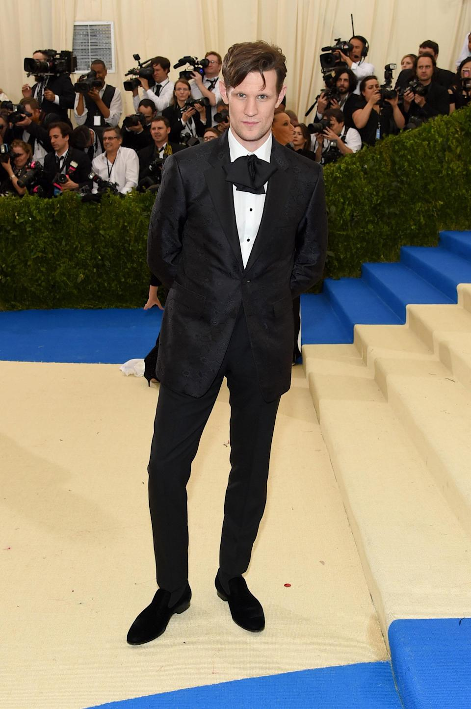 """<h1 class=""""title"""">Matt Smith in Burberry</h1> <cite class=""""credit"""">Photo: Getty Images</cite>"""