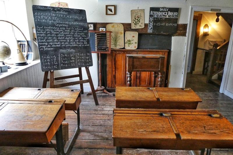 Old Time Classroom