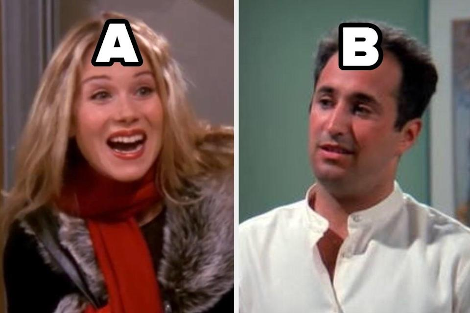 """A and b characters from """"Friends"""""""
