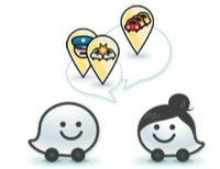 Waze warning icons