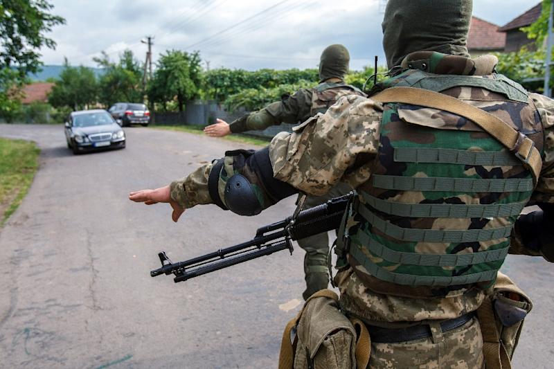 The Office of the UN High Commissioner for Human Rights (OHCHR) said 9,371 people have been killed and 21,532 wounded since the revolt against the pro-Western government in Kiev began in Ukraine's industrial heartland in April 2014 (AFP Photo/Alexander Zobin)