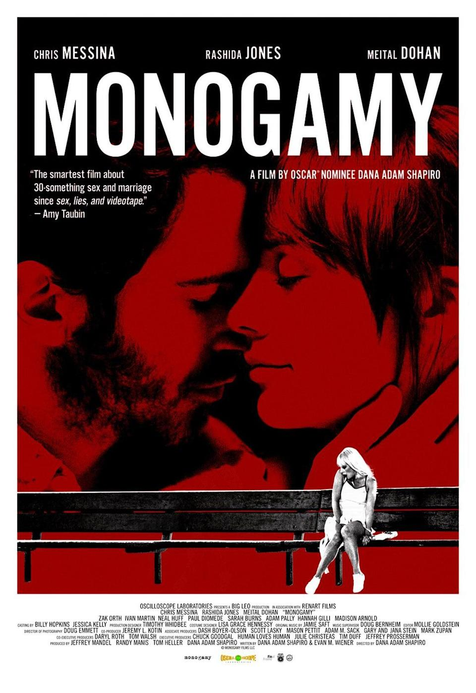 """<p>When a photographer begins to fall for his client, it puts his relationship at risk in this film starring Rashida Jones and Chris Messina.</p> <p><a href=""""http://www.hulu.com/movie/monogamy-e0697737-97e9-48ab-882c-7f53a9b3fe71"""" class=""""link rapid-noclick-resp"""" rel=""""nofollow noopener"""" target=""""_blank"""" data-ylk=""""slk:Watch Monogamy on Hulu."""">Watch <strong>Monogamy</strong> on Hulu.</a><br></p>"""