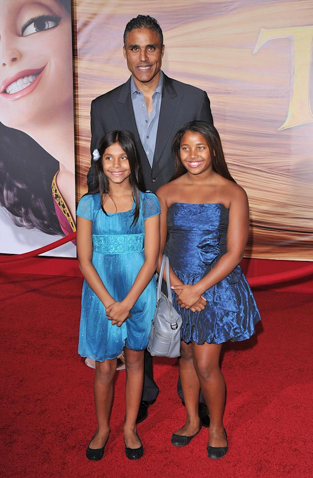 "<a href=""http://movies.yahoo.com/movie/contributor/1800385074"">Rick Fox</a> and guests attend the Los Angeles premiere of <a href=""http://movies.yahoo.com/movie/1810121160/info"">Tangled</a> on November 14, 2010."