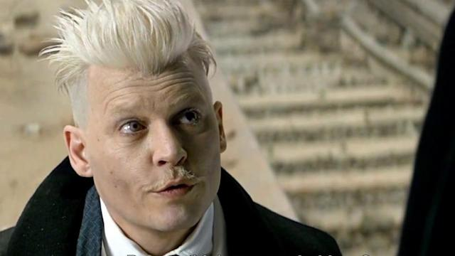 Depp plays the titular villain in Fantastic Beasts. Copyright: [Warner Brothers]