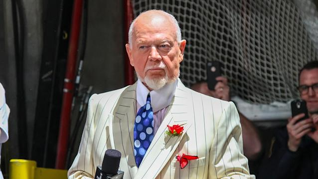 Don Cherry remains unapologetic after being dismissed by Sportsnet for his anti-immigrant comments. (Jonathan Kozub/NHLI via Getty Images)