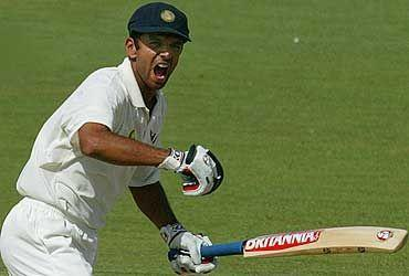 Dravid carried India home with another 72