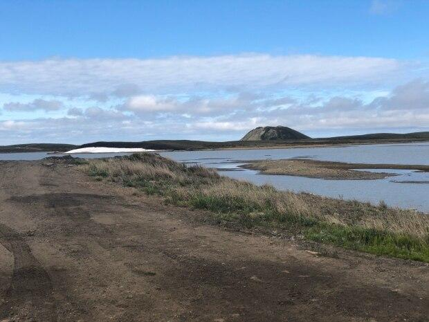 The Conservatives are promising to help build a deep water port atTuktoyaktuk, N.W.T.  (Mackenzie Scott/CBC - image credit)
