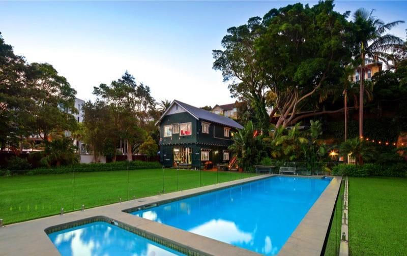 The half-acre property includes two boat docks, four moorings and 131 feet of waterfront on Point Piper, a small suburb known for its deep waters.