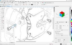 CorelDRAW Technical Suite 2021 makes it easy to repurpose 3D engineering data into detailed technical illustrations with a new thread workflow that simplifies working with bolts imported from XVL Studio (3D CAD) Corel Edition.