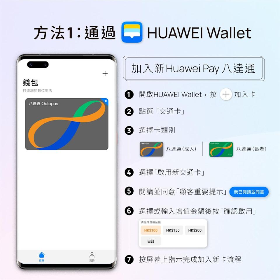 Huawei Pay 八達通