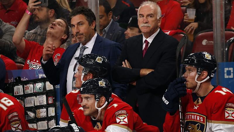 Quenneville returns to Chicago with Florida Panthers