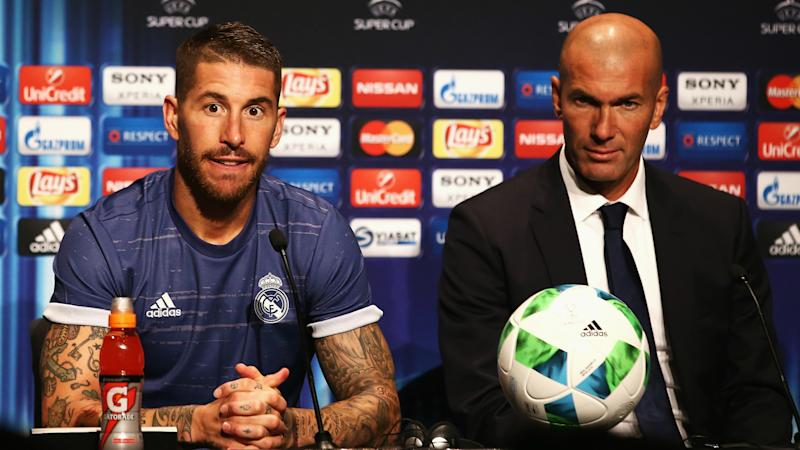 'We are pleased he is the captain of our ship' - Ramos hails Zidane