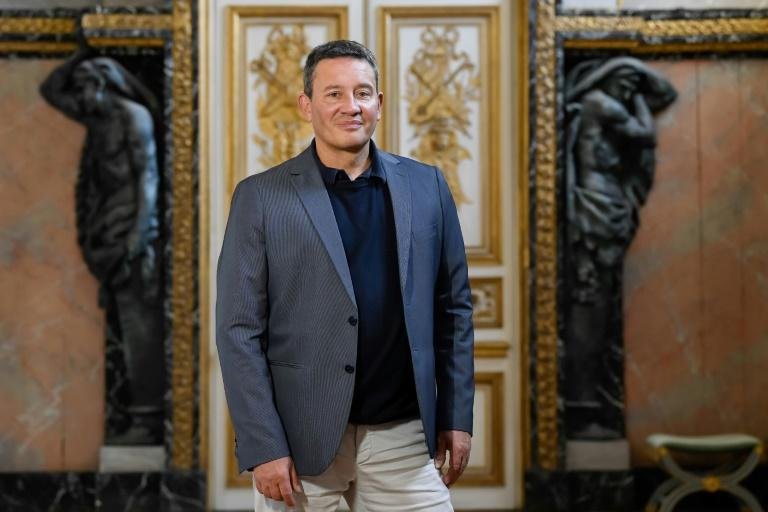 Historic first: Laurent Brunner, head of theatre and events at the Palace of Versailles (AFP Photo/BERTRAND GUAY)