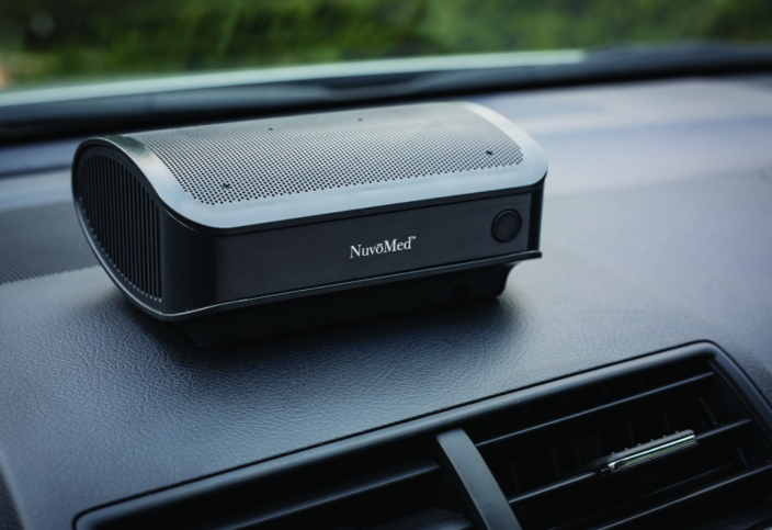 car air purifiers nuvomed