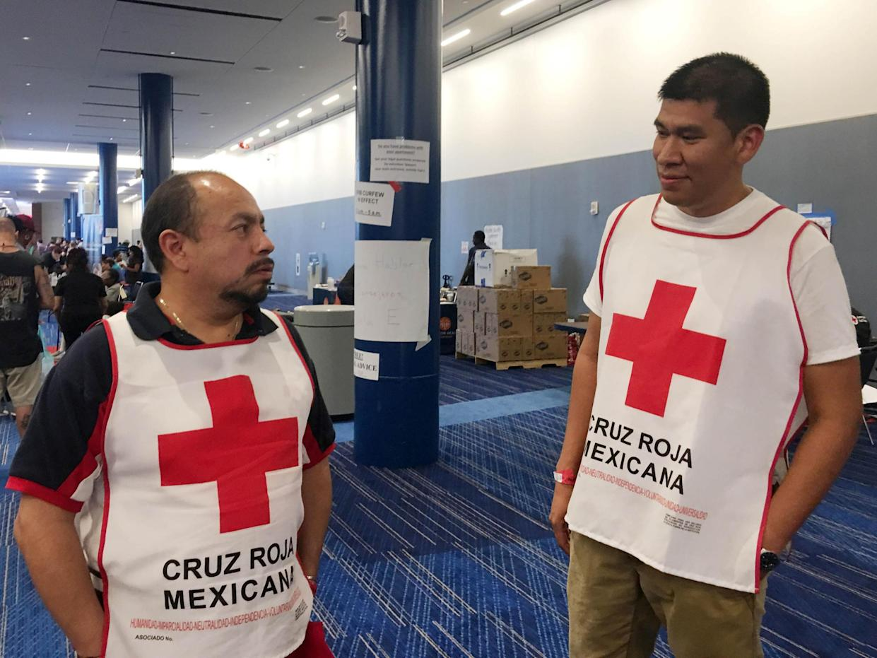 The Red Cross has come under fire from a politician and a judge in Houston, Texas, over its handling of the crisis created by Hurricane Harvey: Ruthy Munoz/Reuters