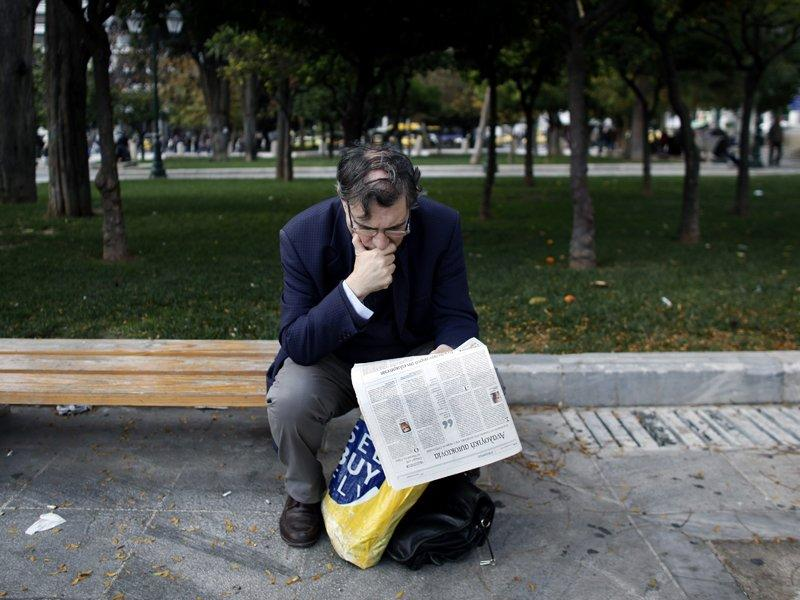 Greek jobless up to record 26 per cent