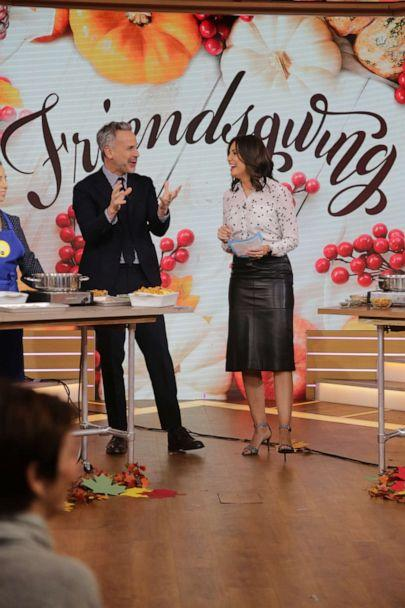 PHOTO: Bon Appetit editor in chief Adam Rapoport joins 'GMA' for Friendsgiving. (ABC News)