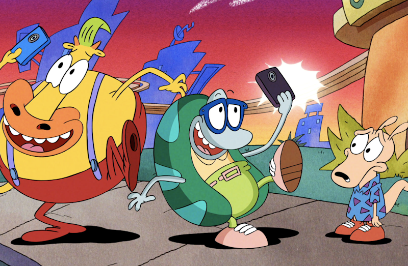 Rocko gets a movie, '