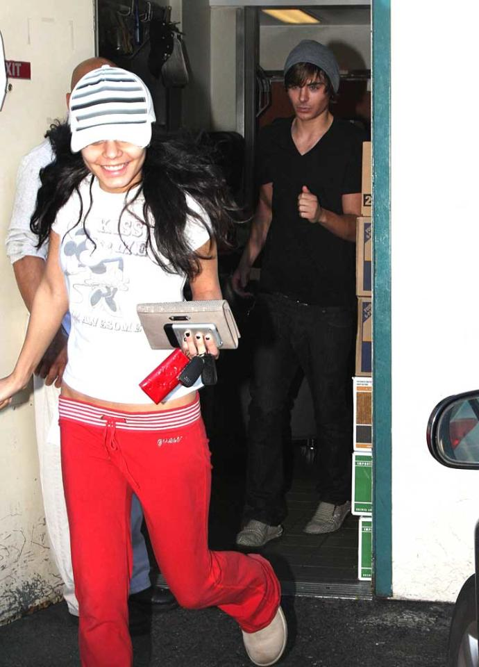 """Zac Efron celebrated his release from the hospital on Friday with girlfriend Vanessa Hudgens. The teen heartthrob had emergency surgery on Tuesday for appendicitis. <a href=""""http://www.x17online.com"""" target=""""new"""">X17 Online</a> - January 18, 2008"""