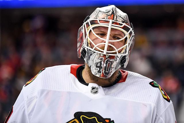 Will Robin Lehner be more than just a backup for Vegas? (Photo by Brett Holmes/Icon Sportswire via Getty Images)