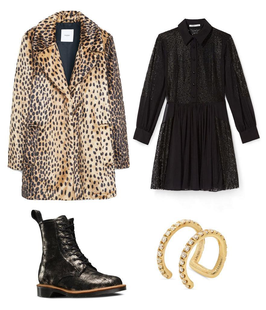 """<p>There's a reason an <a href=""""https://www.yahoo.com/style/leopard-print-coats-forever-and-c1418684900349/photo-edie-sedgwick-photo-1418684280793.html"""" data-ylk=""""slk:Edie Sedgwick;outcm:mb_qualified_link;_E:mb_qualified_link;ct:story;"""" class=""""link rapid-noclick-resp yahoo-link"""">Edie Sedgwick</a>-style leopard coat comes with every punk girl's starter pack, along with ripped tights and Manic Panic lipstick: It has an Old Hollywood glamour that's coolest worn with a snarl. Channel your inner riot grrrl (or <a href=""""https://www.yahoo.com/style/exclusive-hedi-slimane-on-saint-laurents-126446645943.html"""" data-ylk=""""slk:Saint Laurent;outcm:mb_qualified_link;_E:mb_qualified_link;ct:story;"""" class=""""link rapid-noclick-resp yahoo-link"""">Saint Laurent</a> model) by pairing yours with a baby doll mini dress and glitter Docs.</p>"""