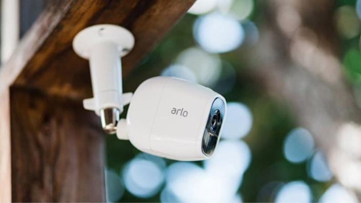 These cameras can be installed inside or outside of the home.
