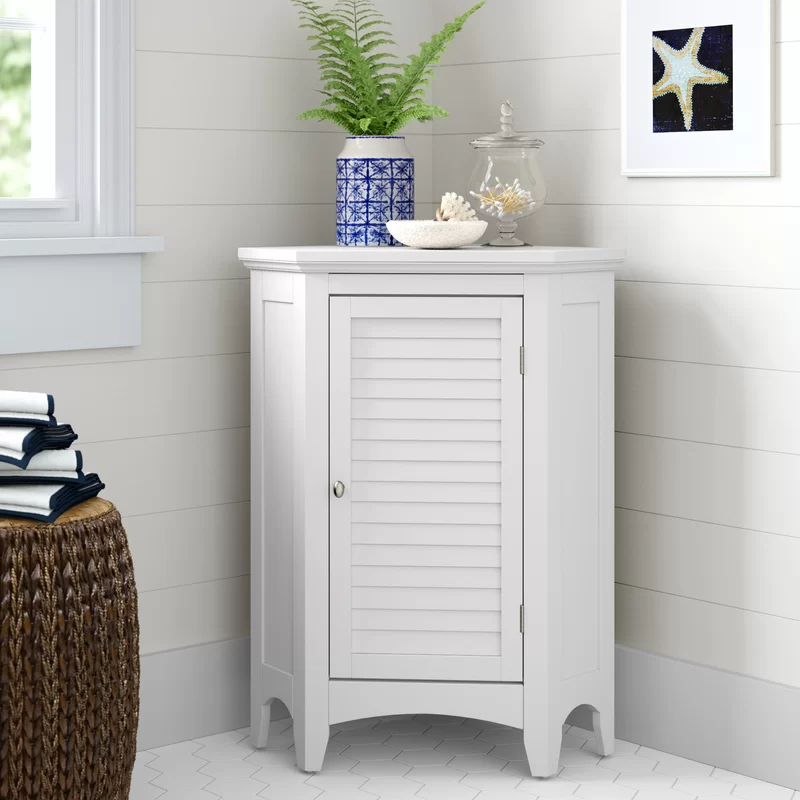 """<h2>39% Coastal Farmhouse Billy D Freestanding Bathroom Cabinet</h2><br><strong>1032 reviews and 4.6 out of 5 stars</strong><br>""""Perfect piece of corner furniture!!!! Looks amazing and holds a lot of items!!! You can't go wrong with this!!!! Love it!!! I did go buy a decorative door knob for it ... and I love it even more!!!!!."""" <em>– Wayfair Reviewer</em><br><br><em>Shop <strong><a href=""""https://www.wayfair.com/storage-organization/pdp/coastal-farmhouse-billy-2475-w-x-32-h-x-17-d-free-standing-bathroom-cabinet-seho6965.html"""" rel=""""nofollow noopener"""" target=""""_blank"""" data-ylk=""""slk:Wayfair"""" class=""""link rapid-noclick-resp"""">Wayfair</a></strong></em><br><br><strong>Coastal Farmhouse</strong> Billy D Free-Standing Bathroom Cabinet, $, available at <a href=""""https://go.skimresources.com/?id=30283X879131&url=https%3A%2F%2Fwww.wayfair.com%2Fstorage-organization%2Fpdp%2Fcoastal-farmhouse-billy-2475-w-x-32-h-x-17-d-free-standing-bathroom-cabinet-seho6965.html"""" rel=""""nofollow noopener"""" target=""""_blank"""" data-ylk=""""slk:Wayfair"""" class=""""link rapid-noclick-resp"""">Wayfair</a>"""