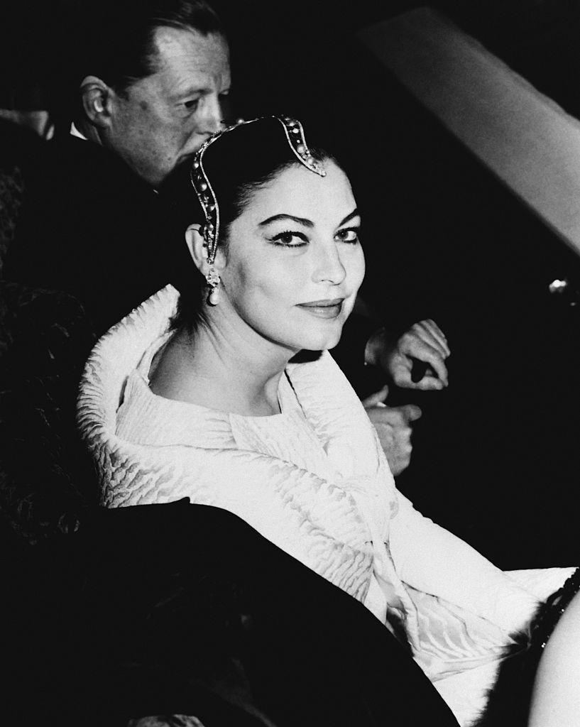 <p>Ava Gardner seen at a music hall in Mexico.</p><p>Other celebrity visitors this year: Elvis Presley.</p>
