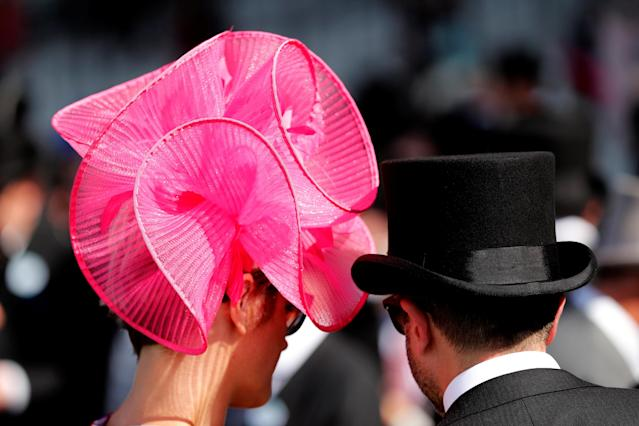 Horse Racing - Royal Ascot - Ascot Racecourse, Ascot, Britain - June 22, 2018 Racegoers Action Images via Reuters/Andrew Boyers