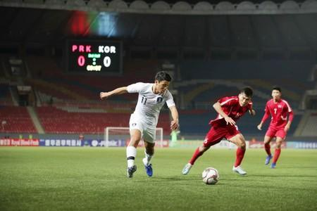 2022 World Cup Qualifier Round 3 - Group H - South Korea v North Korea