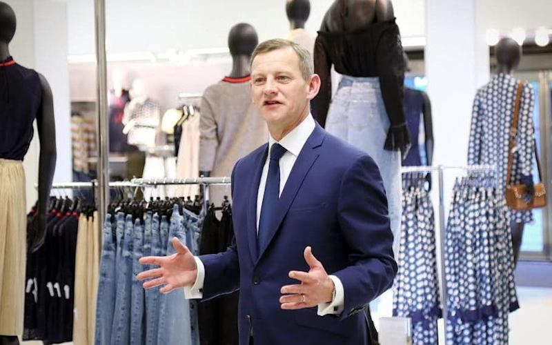 Steve Rowe is leading the turnaround of Marks & Spencer