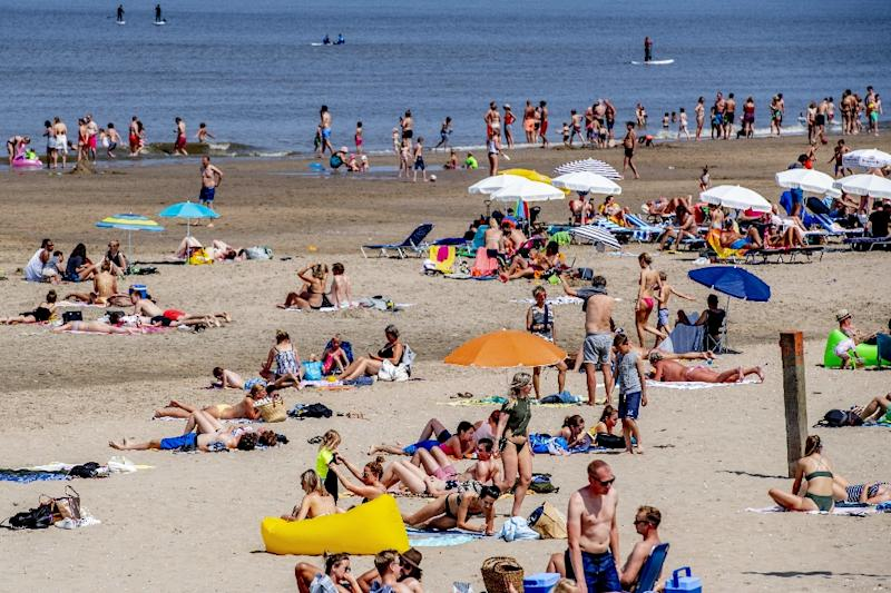 After summer got off to a slow start, Europe looks set to bake in a week-long heat wave (AFP Photo/Robin UTRECHT)