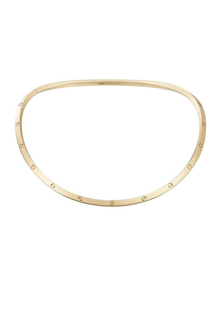 """<p><strong>Cartier</strong></p><p>cartier.com</p><p><strong>$13800.00</strong></p><p><a href=""""https://www.cartier.com/en-us/collections/jewelry/collections/love/necklaces/b7224761-love-necklace.html"""" rel=""""nofollow noopener"""" target=""""_blank"""" data-ylk=""""slk:Shop Now"""" class=""""link rapid-noclick-resp"""">Shop Now</a></p><p>You don't need to prove your love with beautiful jewelry, but it never hurts.</p>"""