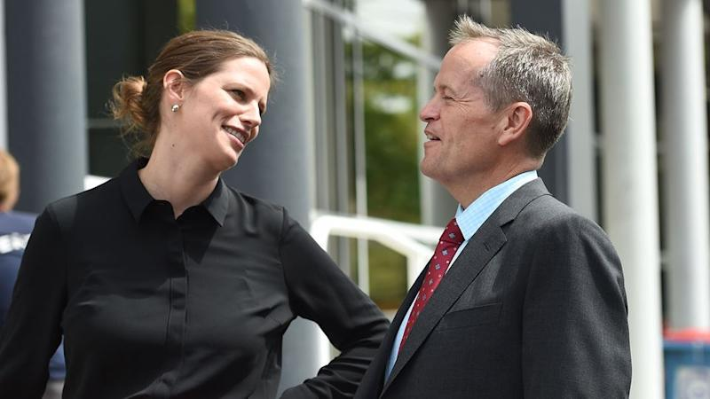 Bill Shorten heaped praise on Ms Ellis for her commitment to the Labor party. Source: AAP