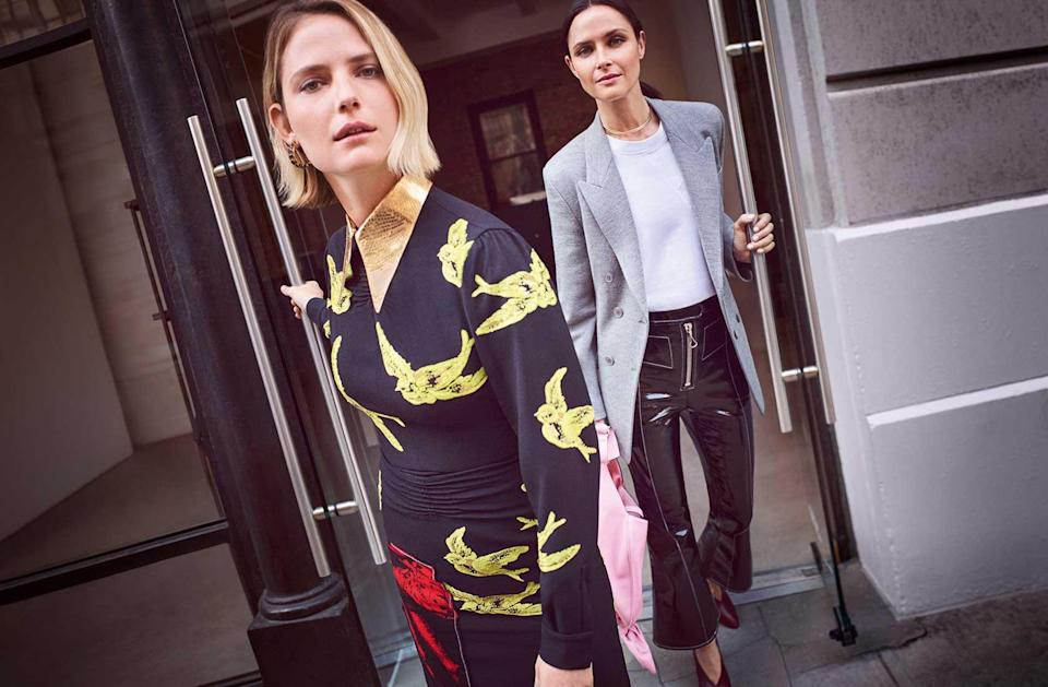 <p><strong>Models:</strong> Camilla Deterre and Tasha Tilberg<br><strong>Photographer:</strong> Riccardo Vimercati<br>(Photo: Courtesy of the Outnet) </p>