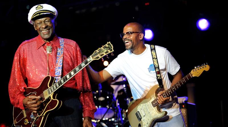 Chuck Berry's Son Remembers Rock Pioneer: 'He Was Inspirational'