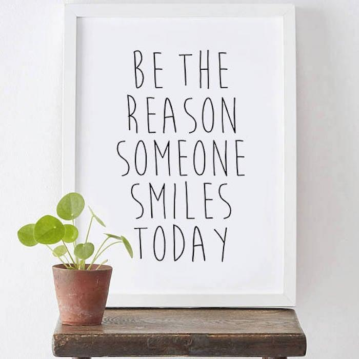 <p>Bring joy into your space with this <span>Motivational Poster</span> ($6).</p>